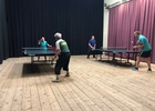 1. kolo zápasů stolního tenisu