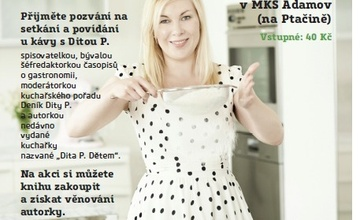 Beseda o kuchařce s kuchařkou DITOU P.
