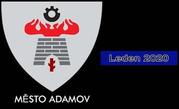 Adamovský infokanál - videoreportáž - leden 2020
