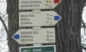Ohlédnutí za vycházkou Ze Zastávky do Oslavan Spartaku Adamov, z.s., turistického oddílu KČT