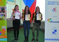 Olga Dvořáková obhájila titul mistra ČR v šachu.