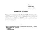 Mimořádné opatření - maloobchodní prodej a služby od 6.4.2020