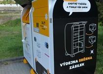 Nový typ kontejneru na oděv