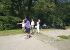 Open turnaj v pétanque u řeky