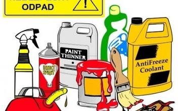 Harmonogram mobilního svozu nebezpečného odpadu