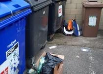 Odpadky pouze na tomu určená místa