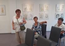 """Ze zahájení výstavy """"Obrázky pro radost Marty Zvěřinové"""""""