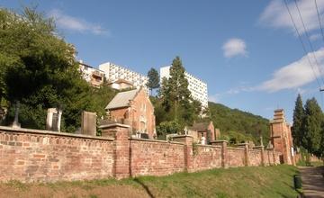 Oprava vstupního portálu do areálu starého hřbitova