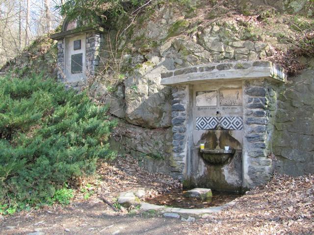 Studánka Pod Novým hradem