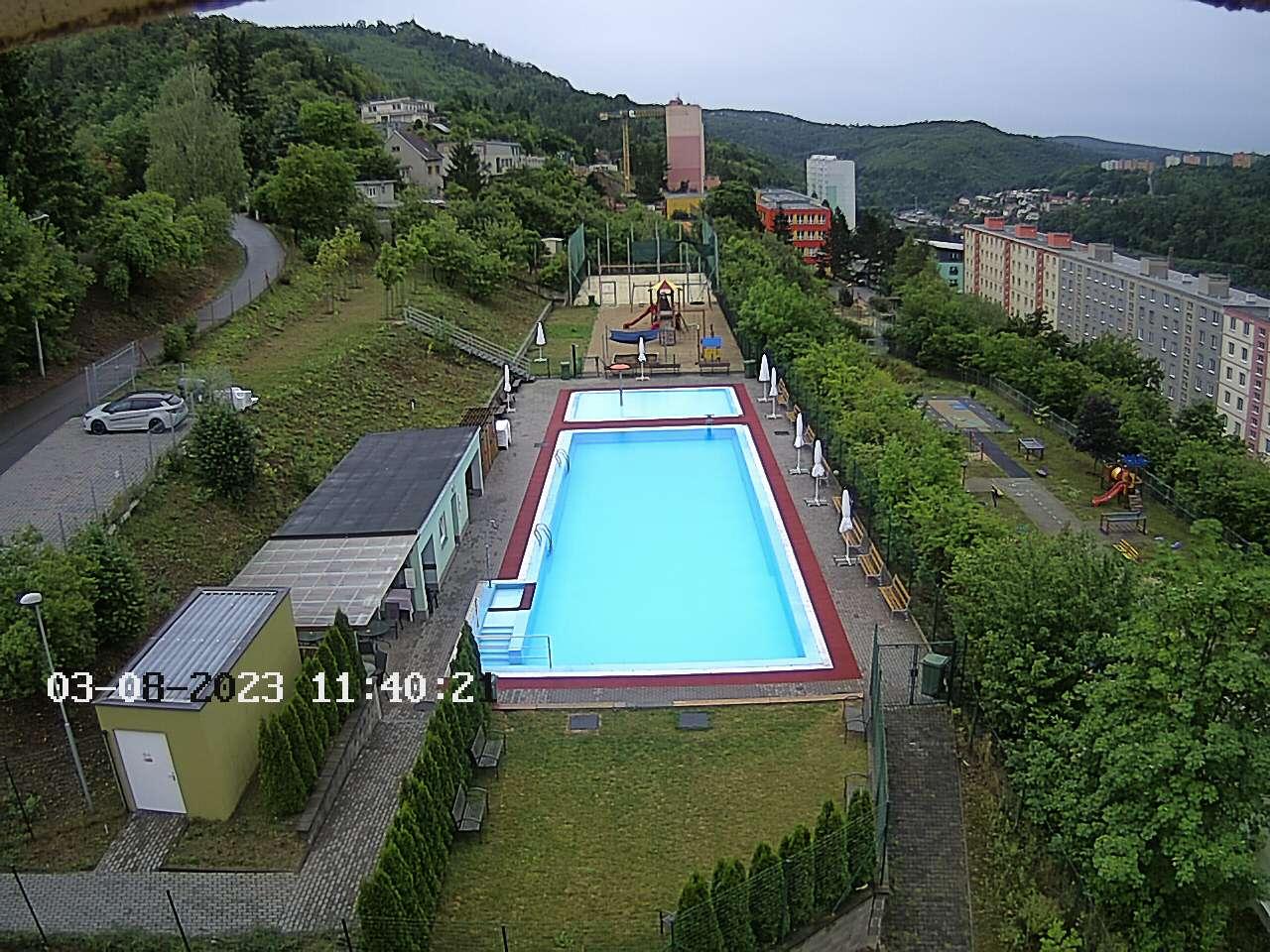 Webkamera na koupaliště Horka I.